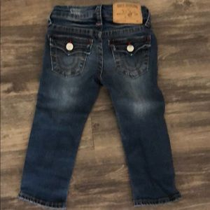 EUC True Religion Toddler jeans 2T